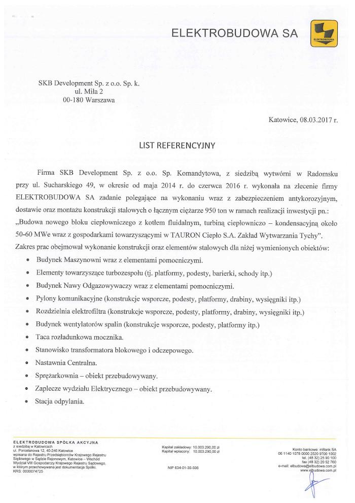 reference Elektrobudowa
